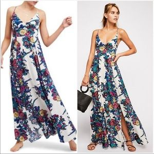 Free People Through the Vine Maxi Dress Size Med